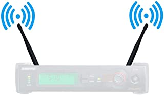 Rhinos UHF Wireless Microphone BNC Antenna 1/4 Wave for SLX4 (400-900MHz,2 Pack)
