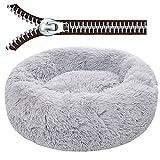 HGGF Funda redonda extraíble para sofá cama perro perrera con...
