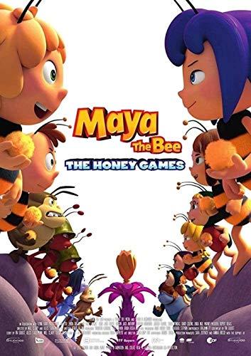Puzle de Madera para Adultos de Navidad de 1000 Piezas - Maya The Bee: The Honey Games Movie Posters - Puzzles educativos para niños Juegos de Ocio y diversión Puzzles de Juguete X