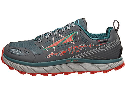 ALTRA Women's A2653LOW-1 Lone Peak 3 Low Neoshell Trail Running Shoe, Gray/Blue - 6 M US