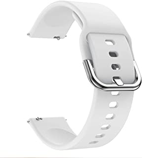 accessoryME Band Compatible with Samsung Galaxy Watch 3 45mm /46mm, 22mm Sport Silicone Quick Release Watch Strap for Gear...