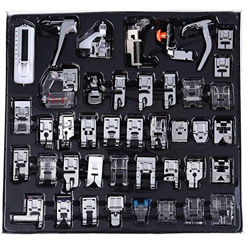 Multifuncional Prensatelas Accesorios, Prensatelas Accesorios para Máquina de coser Accesorios Domésticos para Brother, Babylock, Singer, Janome, Elna, New Home