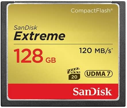SanDisk Fort Worth Mall 128GB Extreme Compact Flash Max 57% OFF Card Speed Transfer Memory