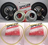 Ford F250/F350 Superduty Dana Super 60 2005-14 Front Axle Seal and U Joint Kit