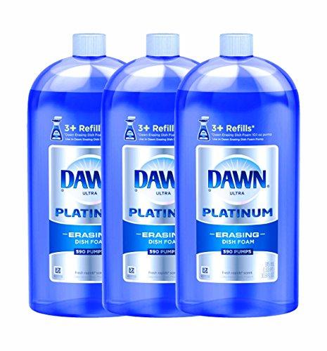 Dawn Direct Foam Dishwashing Foam Refill-Fresh Rapids-30.9 oz., 915 milliter (Pack of 3)