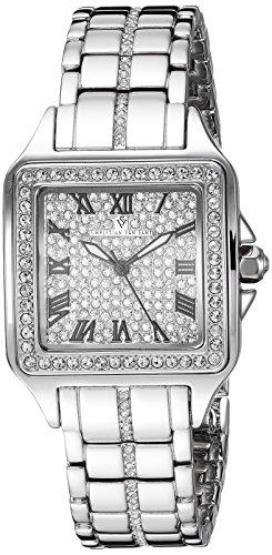 Christian Van Sant Damen analog Quarz Uhr mit Edelstahl Armband CV4620