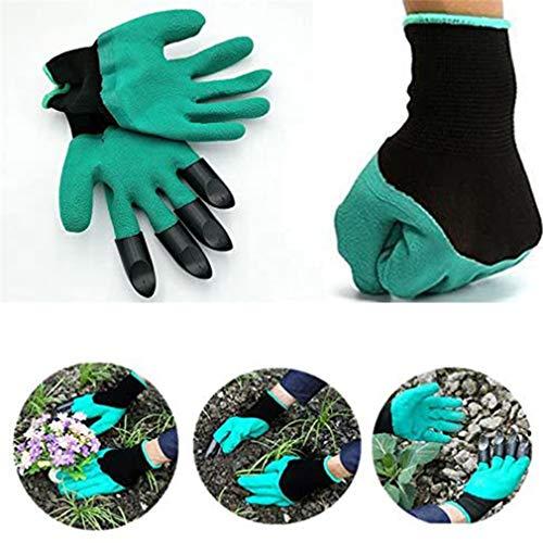 3/5 Uds.Guantes de genio de jardín con garras, guantes de jardín con garras, guantes de genio de jardinería impermeables para excavar, plantar (3 piezas)
