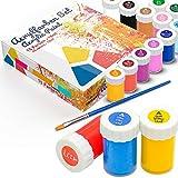 Acryl-Farben-Set für Kinder und Erwachsene, 15er Acryl Farbset