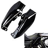 ECLEAR 1 set Mid-Frame deflettori aria carenatura laterale copertura per Harley Touring st...