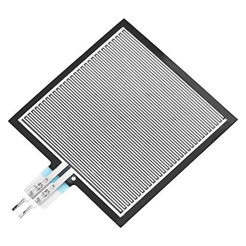 Zetiling Pressure Sensor, Force Sensing Resistor Square RP-S40-ST High Accuracy Thin Film Pressure Sensor Force Sensor for Intelligent High-end Seat