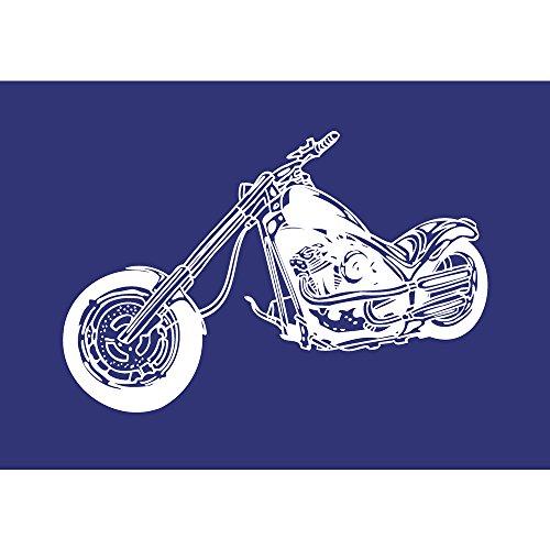 Rayher Schablone Chopper, DIN A4, Gummi, Blau, 3,41 x 2,21 x 0,02 cm