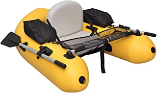 Wistar Fishing Inflatable Rafts Pontoon Float Tube Boat Set with Aluminum Oars and High Output Air Pump and Water Inflatab...