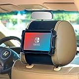 Wanpool - Supporto flessibile per poggiatesta auto per Nintendo Switch & i Pad Air, i Pad Mini e altri tablet