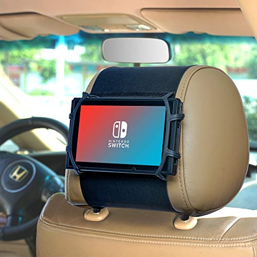 WANPOOL Flexible Auto-Kopfstützenhalterung für Nintendo Switch & i Pad Air, i Pad Mini und andere Tablets