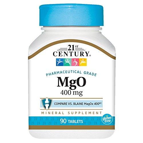 21st Century mgO 400 mg Tablets, 90 Count