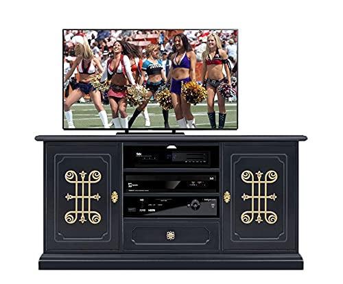 Arteferretto Mobile TV 130 cm 'Collezione You' Black Gold