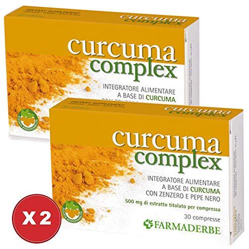 Curcuma Complex 2 Confezioni da 30 compresse - Farmaderbe