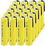 Electrónica Baterías para El Hogar Pilas Recargables De Batería AAA Nimh 1.2V 1000Mah Descarga De Batería De Corriente De Alta Potencia para Teclado Mp3-20Pcs
