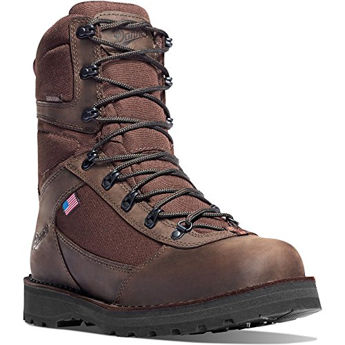 "Danner East Ridge Brown Insulated 400G Boot 10"" Height Hunting Boots Vibram Sole 