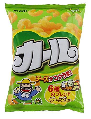 (エリア限定品)明治カールチーズあじ64g×10袋