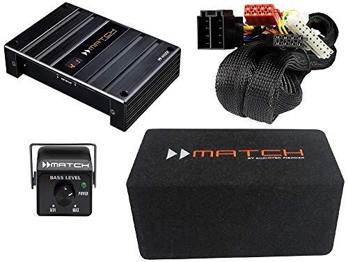 Easy Sound Performance Paket - Sound-Upgrade mit Verstärker, Digitalem Soundprozessor & Subwoofer für viele Fahrzeuge