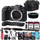 Canon EOS RP Mirrorless Camera Body (NO Lens) + 256GB Memory + Extension Grip + Photo Editing Software + Accessory Bundle (27pcs)