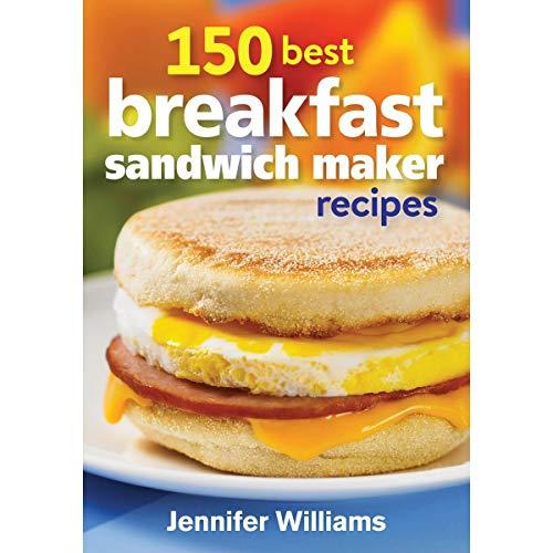 Hamilton Beach Breakfast Sandwich Maker & 150 Breakfast Sandwiches Recipe Book