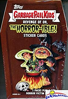 2019 Topps Garbage Pail Kids Series 2 REVENGE of OH, THE HORROR-IBLE! EXCLUSIVE Factory Sealed Value Box with Special HORROR VICTORY STICKERS! Look for Autos, Sketch Cards & Printing Plates! WOWZZER!