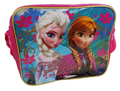 Disney Frozen Kids Girl's Pink 'Frozen' Messenger Bag