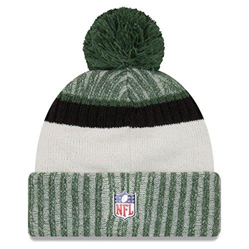 New Era NFL SIDELINE 2017 Bobble Beanie - New York Jets