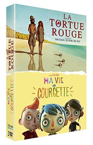 La Tortue Rouge + Ma vie de Courgette [Francia] [DVD]