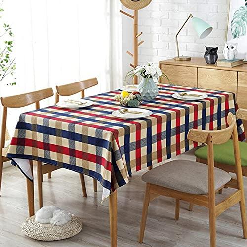 XXDD Mantel de Mesa de Comedor Paño de Ropa Paños Cubierta de Escritorio Rectangular para decoración de Mesa Manteles Mesa Rectangular A2 140x180cm