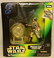 Star Wars Power of the Force Millennium Minted Coin with Princess Leia in Endor Gear Action Figure
