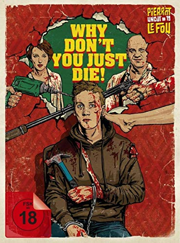 Why Don't You Just Die! - Mediabook - Limited Edition (uncut) (+ DVD) [Blu-ray]