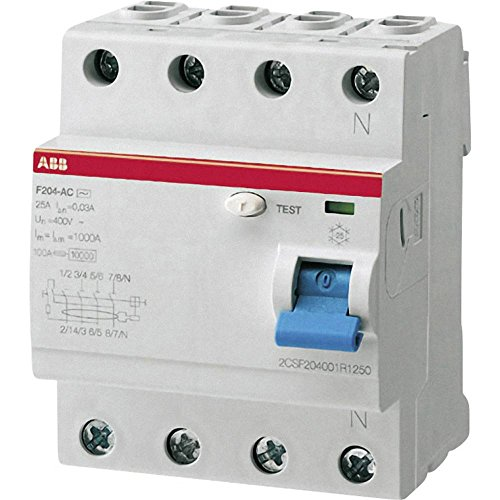 ABB 2CSF204101R1400 FI-Schutzschalter A 4polig 40A 0.03A 230 V/AC, 400 V/AC