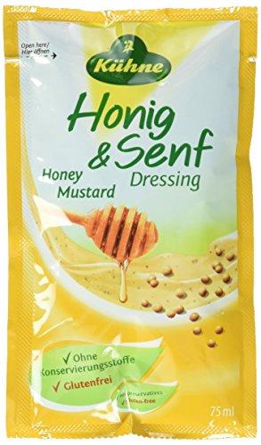 Kühne Dressing Honig -Senf, 15er Pack (15 x 75 ml)
