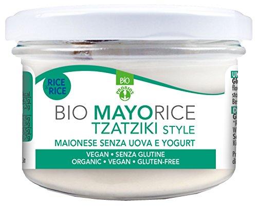 Probios Mayorice Tzatziki Style Bio senza Glutine - Pacco da 6 x 165 g
