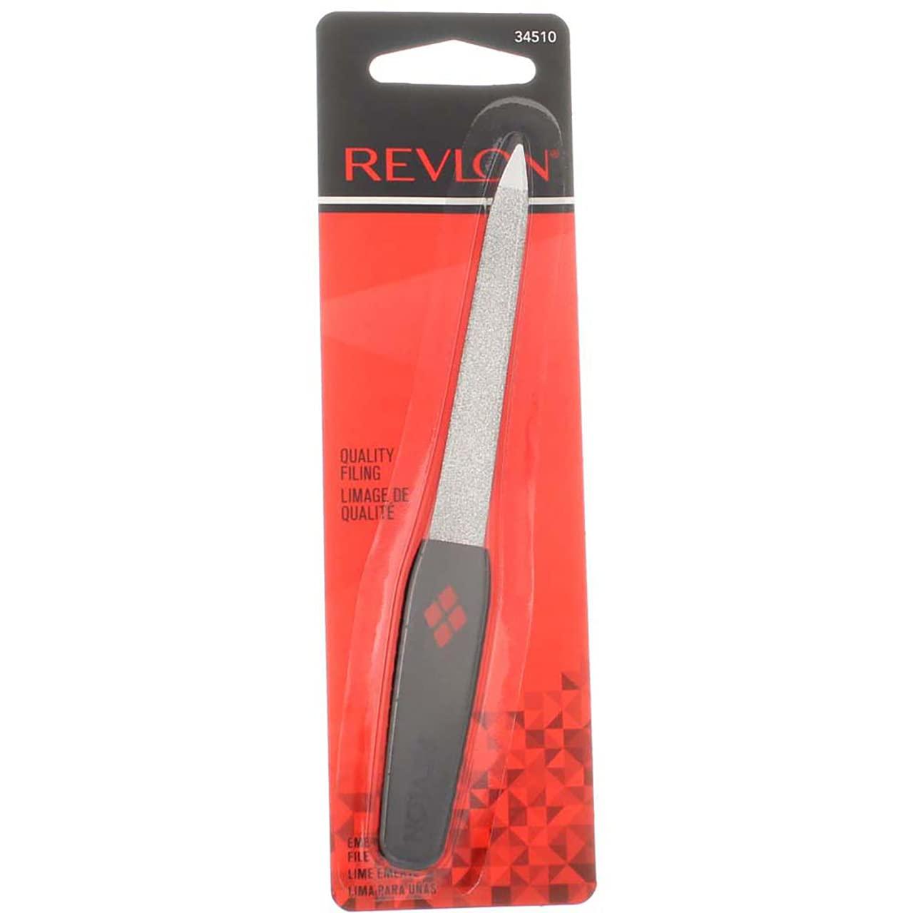 Revlon Weekly update Emeryl File Credence 1 2 Pack Each of