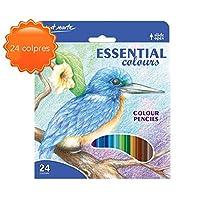 TONGQINH 24色の色鉛筆セット絵画セット色鉛筆ボックスを着色しやすい