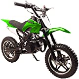Flying Horse 49cc 50cc High Performance 2 Stroke Gas Powered Mini Dirt Bike...