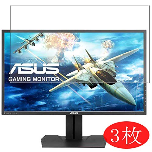 """【3 Pack】 Synvy Screen Protector for ASUS Monitor 27"""" MG279Q TPU Flexible HD Clear Case-Friendly Film Protective Protectors [Not Tempered Glass] New Version"""