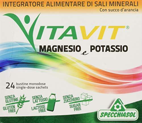 Specchiasol Vitavit Magnesio e Potassio, 24 Bustine da 2.9 grammi