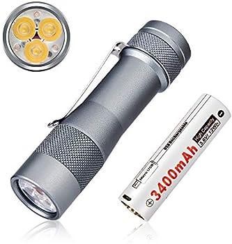 Lumintop 2800 High Lumen Pocket Flashlight
