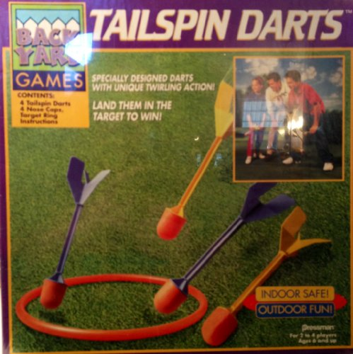 Learn More About Backyard Games Outdoor/Indoor Tailspin Darts Set