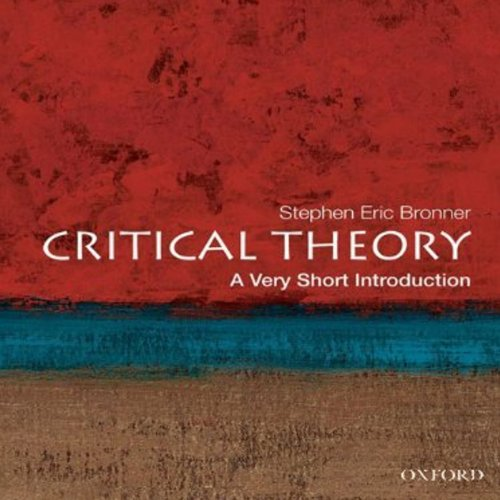 Critical Theory: A Very Short Introduction  audiobook cover art