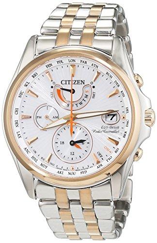 Citizen - FC0014-54A - Montre Femme - Quartz Analogique - Cadran Blanc - Bracelet Acier Argent