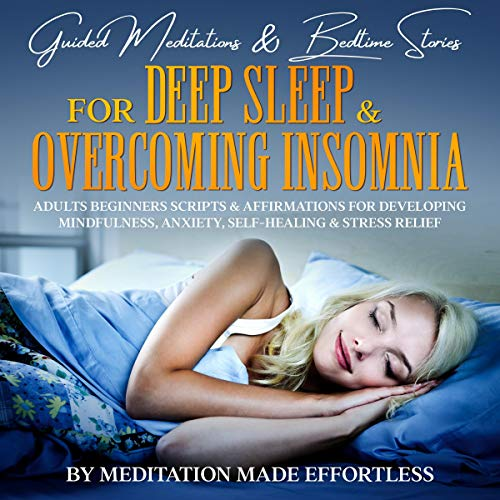 Guided Meditations & Bedtime Stories for Deep Sleep & Overcoming Insomnia cover art
