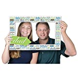 Beistle Father's Day Photo Fun Frame Printed 2 Sides 15.5' x 23.5' (1/Pkg) - 12 Pack, Multicolored
