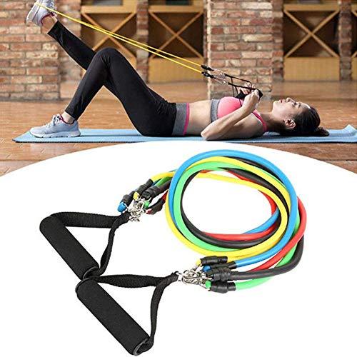 CHL Fitnessband-Stretching, Widerstandsband-Fitness, verwendet für Muskeltraining, Yoga sowie tragbare Fitnessbänder für drinnen und draußen