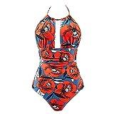 Lavany Womens Swimsuit Lavany Womens Fashion One Piece Halter Neck Swimwear Tummy Control Monokini Swimsuit